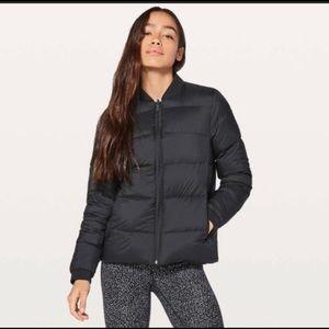Lululemon down puffer jacket reversible